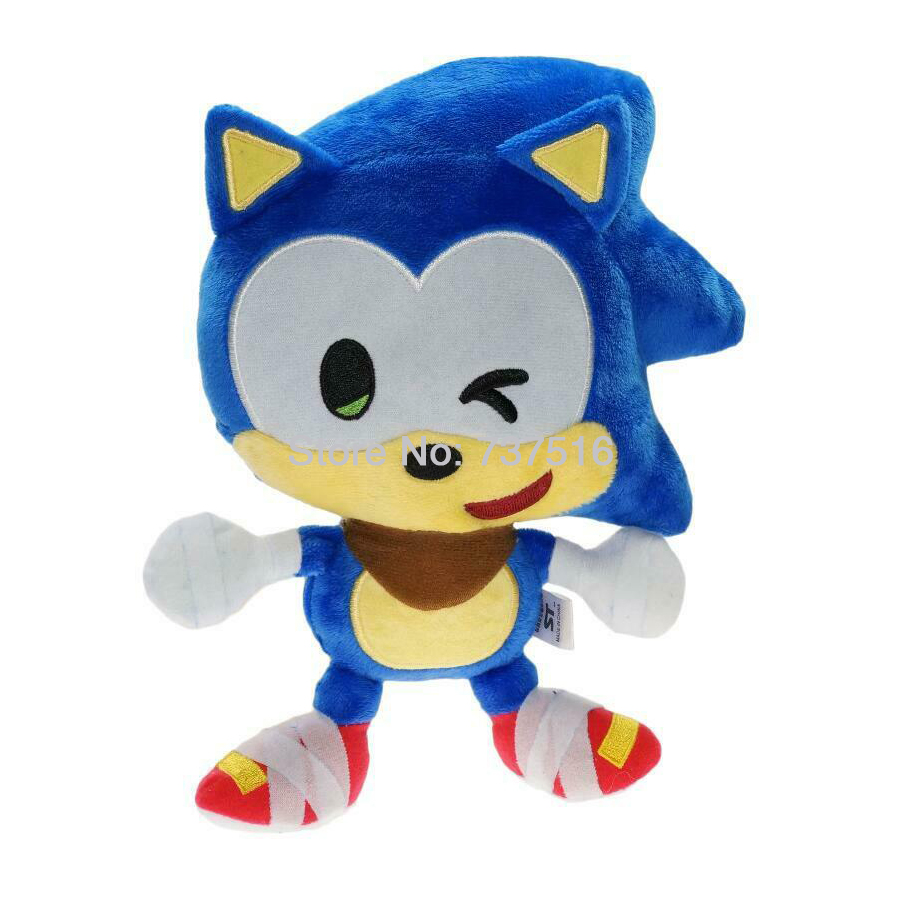 LOVELY Sonic the Hedgehog 6 inch stuffed plush gift toy