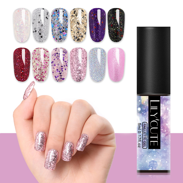 LILYCUTE Glitter Gel Polish