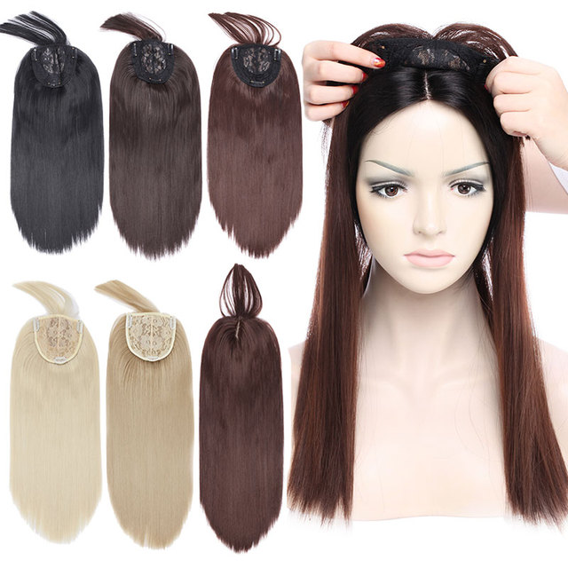 Snoilite 43cm 3clip In Hair Extension Heat Resistant Fake Hairpieces