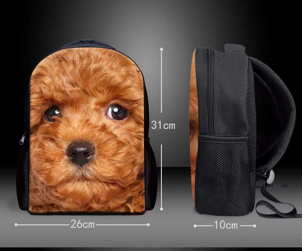 Cutom милый мультфильм Kawaii собака маленькая детская школьная сумка школьные сумки для детского сада мальчиков девочек школьные сумки рождественские подарки