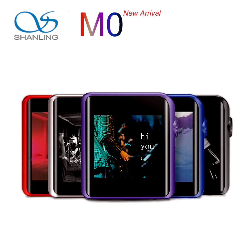 Leitor de Música Shanling 384 Khz Bluetooth Aptx Ldac Dsd Mp3 Falc Portátil Hi-res Áudio m0 Es9218p 32bit –