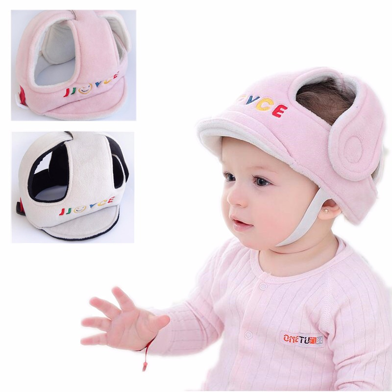 Pillow Baby Shatter-resistant Head Protection Cap Kids Toddler Suede Breathable Sponge Anti-hit Cap Child Comfort Safety Helmet For Fast Shipping Baby Bedding