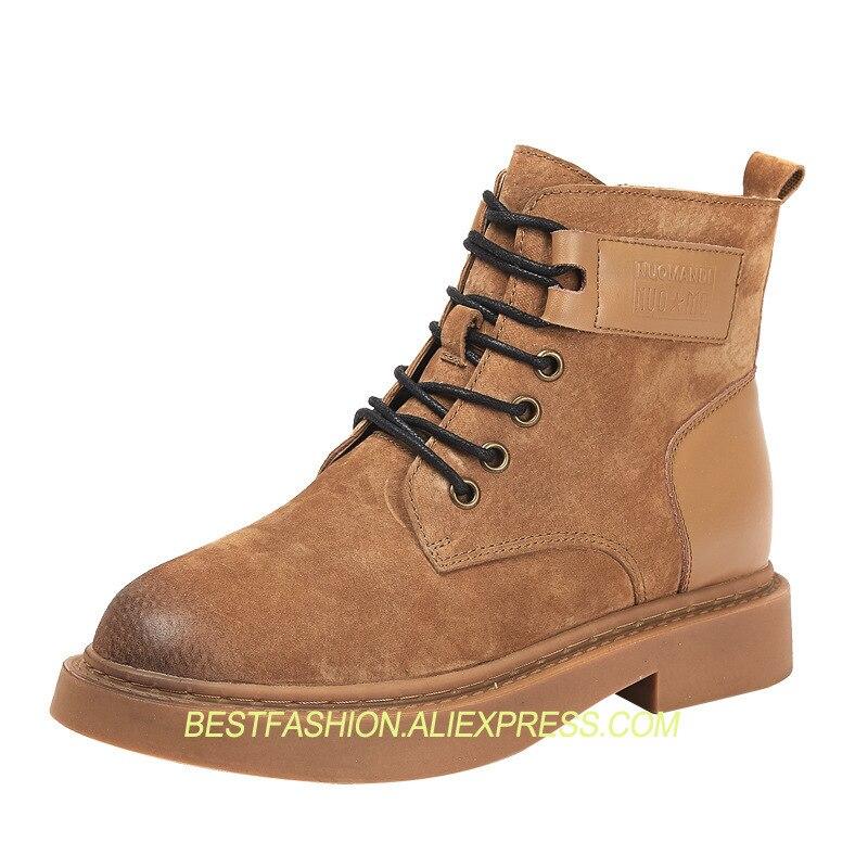 forme Cuir Black Zip Côté De Femmes Plate 2018 Cheville L authenticité  Chaussures En Bottines Pour Bottes camel Automne ... d75ef12fce88