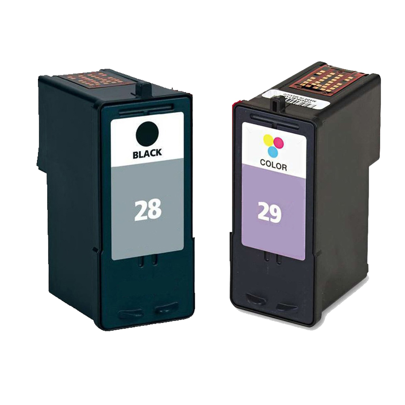 For Lexmark 28 29 Ink Cartridge For Lexmark Z845 X5410 X5490 X5495 X2510 X2530 X2550