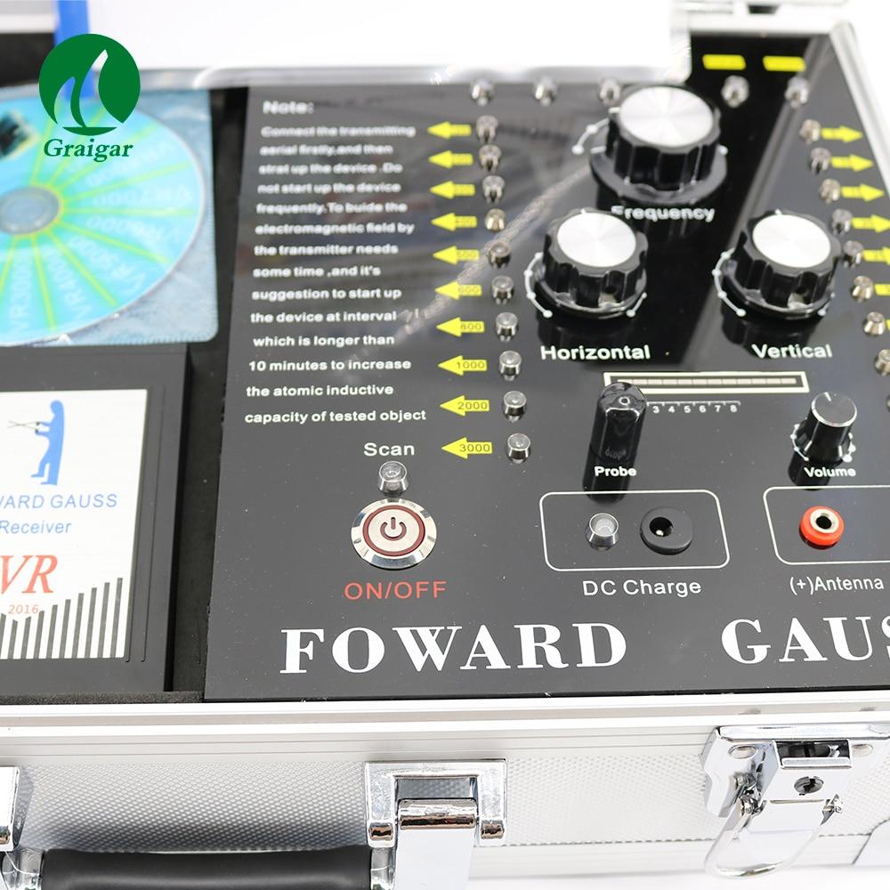 VR10000 Long Range Underground Metal Detector Machine Metal Detector For Gold Finder 2018 best headphone for underground metal detector gold finder t2 g m t