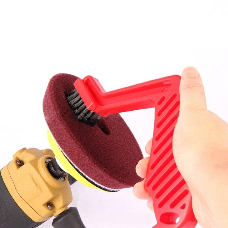 Multi Functional Brush Detacher For Buffing Pad Sponge Wax Cleaning Dressing Polishing Brushes
