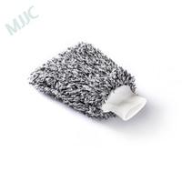 MJJC мягкая перчатка для чистки автомобиля ультра мягкая перчатка для мытья машины Быстросохнущий Авто Детализация Митт микрофибры Madness Мыть...