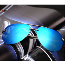 Samjune Aluminum Magnesium Polarized Sunglasses Men Driver Mirror Sun glasses Male Fishing Female Eyewear For Men