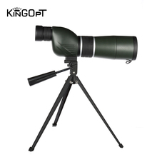 KINGOPT 15-45x60 Spotting Scope Straight Optics Monocular Telescopes Connecting Portable Tripod Outdoor Camping Bird-watching