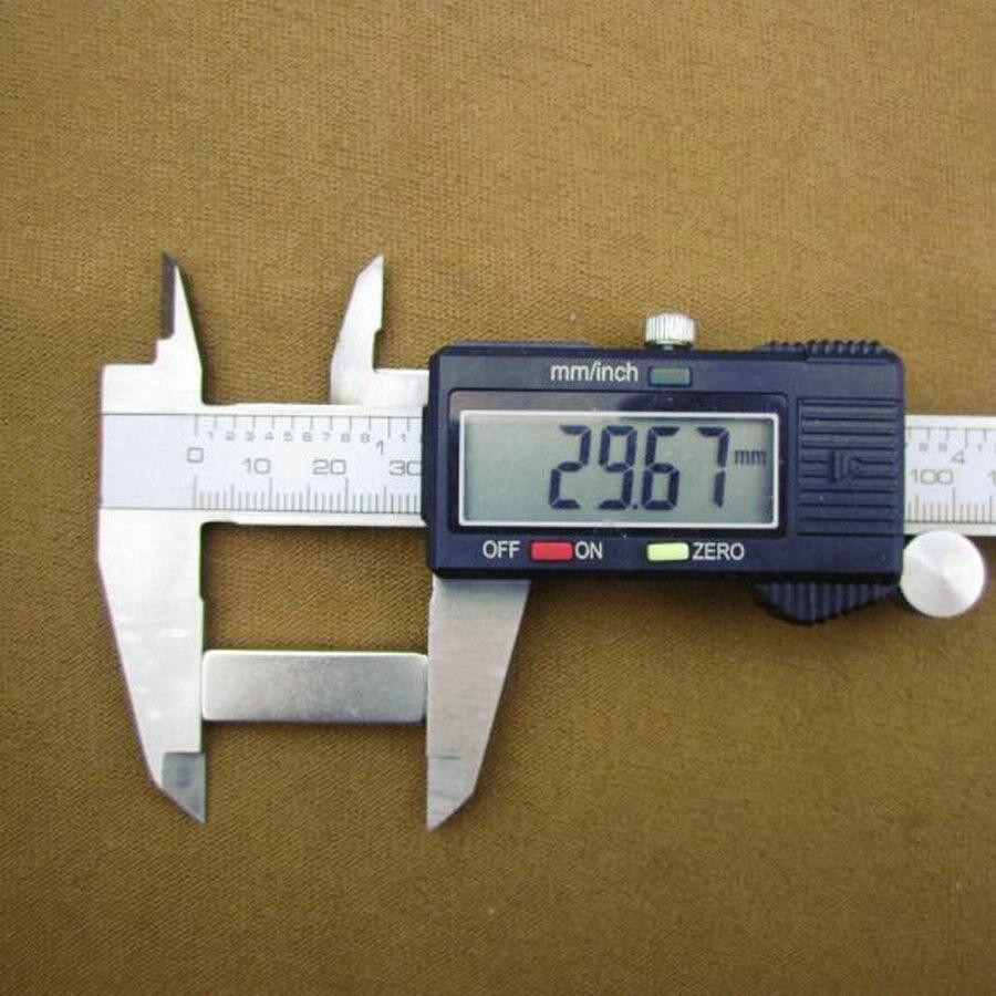 Hot Useful 10pcs 30 x 10 x 4 mm Block Super Strong Cuboid Magnets Force Rare Fridge Neodymium 30x10x4mm Free Shipping APS0514