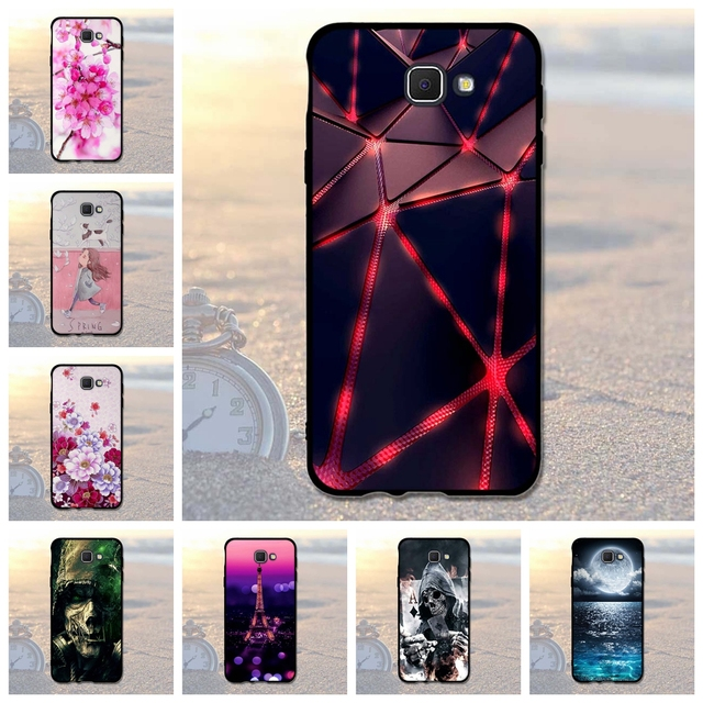 """For Samsung Galaxy J5 Prime Phone Cases Cover Fashion Painting Coque For Samsung j5 Prime On5 2016 G570F G570 SM-G570F 5.0""""Bags"""