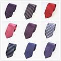 Polyester Stripe Grid Gravata Slim Masculina Mens Polka Dots Business Bridegroom Paisley 7.5cm Corbatas Para Hombre Ties Cravat