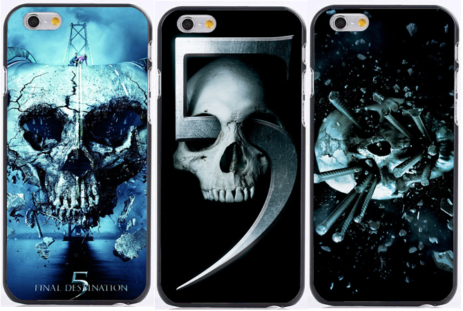 purchase cheap 38312 4f364 US $2.99 |hot Skull in Final Destination print plastic Hard phone cases for  iphone 6s case 6 6 plus 5 5s 5c 4s +free shipping on Aliexpress.com | ...