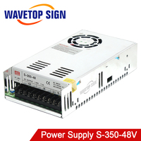 switching power supply 48v 7.3a S 350 48 input 220v 110v 0v output DC48v 7.3A Power Supply use for cnc router machine driver