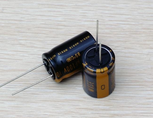 2018 Hot Sale 10PCS/30PCS New Japanese Original Nichicon Audio Electrolytic Capacitor KZ 100Uf/100V Free Shipping