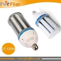 Free Shipping 12pcs/lot Maize bulb led e40 e39 e27 waterproof corn light lamp 27W 36W 45W 54W 80W 100W 120W 100v 110v 240v 277v
