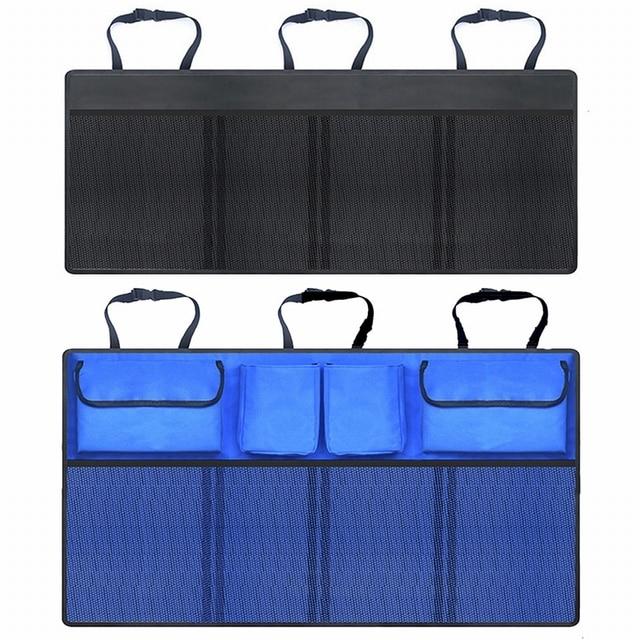 Car Storage Bag Car Seat Back Bag Trunk Storage Bag Large Capacity Creative Car Accessories