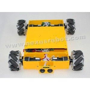 4WD Mecanum təkərli mobil robot dəsti - Məktəb və tədris ləvazimatları - Fotoqrafiya 4