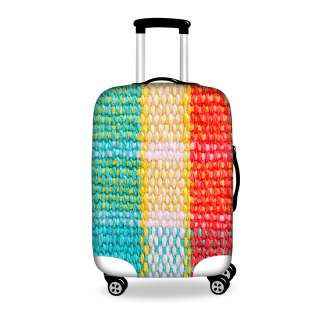 Unique Designer Luggage Protective Cover Women's Travel Luggage Cover Apply to 18-30 Inch Suitcase Fashion Luggage Accessories