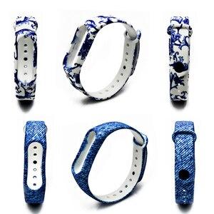 Image 5 - Новый ремешок BOORUI для браслета Mi Band 2, ремешок для mi Band 2, цветной сменный силиконовый ремешок на запястье для xiaomi Mi Band 2, смарт браслет