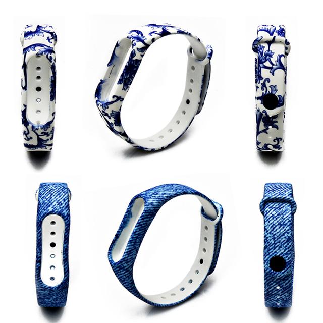 BOORUI New Mi Band 2 Bracelet Strap Miband 2 Strap Colorful Replacement  silicone wrist strap for xiaomi mi banda 2  smartband