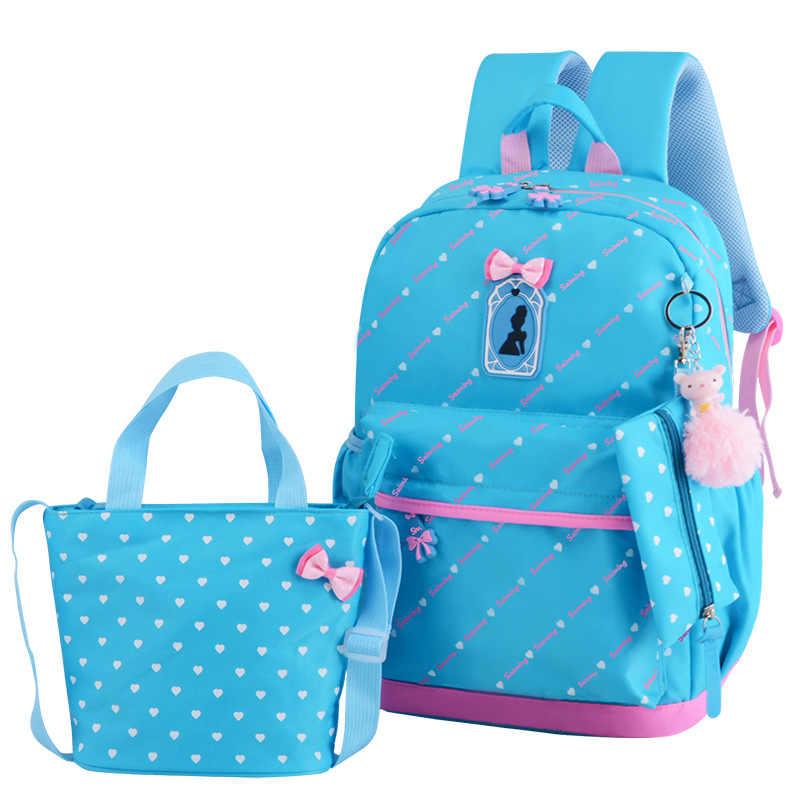 children school bags girls orthopedic school backpack schoolbags kids princess backpack primary school backpack mochila infantil