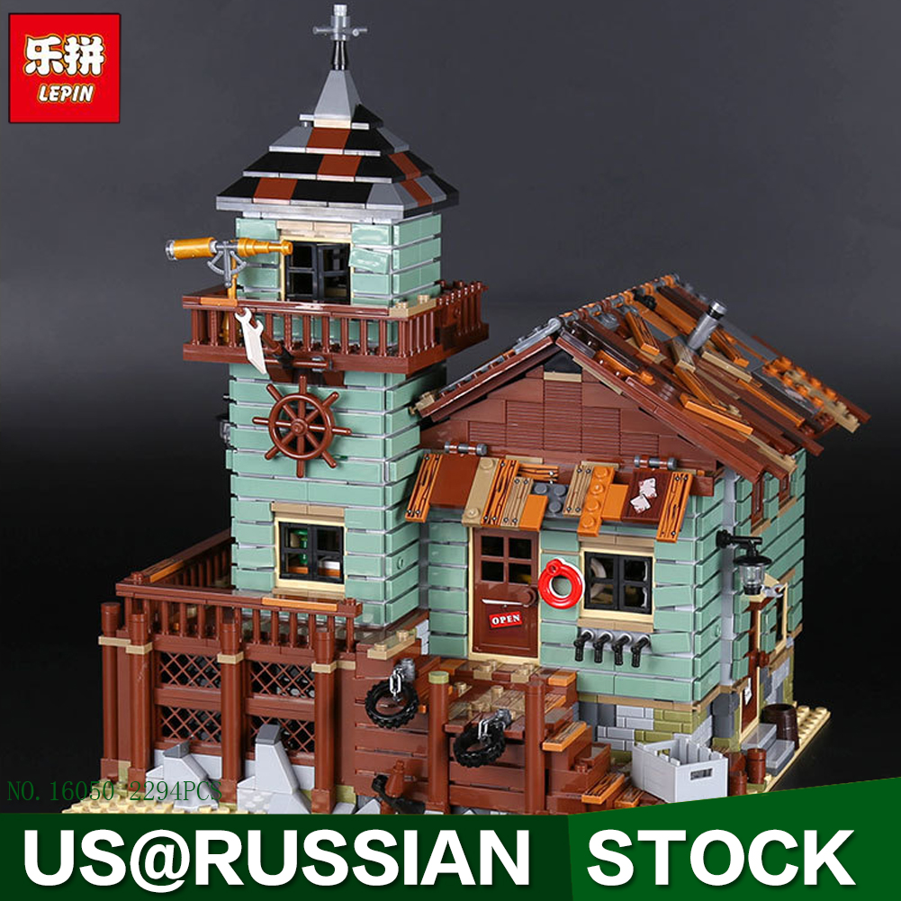 In Stock DHL Lepin 16050 2294Pcs MOC Series The Old Finishing Store Set 21310 Building Blocks Bricks Christmas Toys Gift for Kid the little old lady in saint tropez