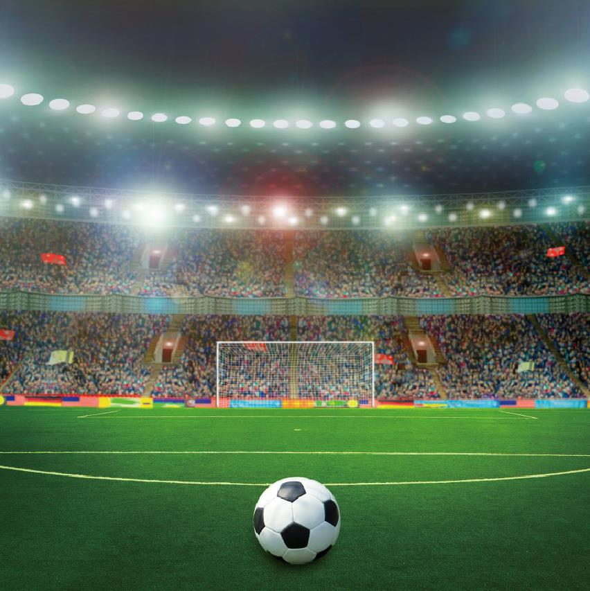 Laeacco Football Soccer Backgrounds Goal Green Grass Stadium Baby Birthday Party Portrait Photography Backdrops For Photo Studio Background Aliexpress