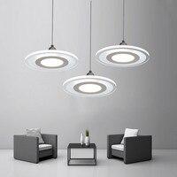 Lamp Pendant Light Kitchen Lighting Fixtures Living Room Rustic Modern Home Decor Loft Furniture Led Cord White Acrylic
