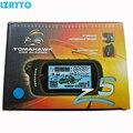 Dois sentidos do sistema de alarme de carro TOMAHAWK Z5 versão Russa de Alta classe 2-way LCD motor de arranque remoto de Longa distância Eletrônica