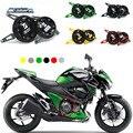 Motocicleta Kawasaki Z800 CNC decorativo tampa lateral no lado direito do motor proteção