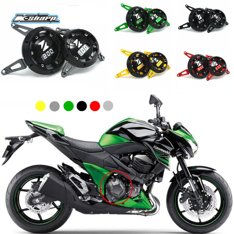 мотоцикл Кавасаки z800 ЧПУ декоративная крышка на правую защиту двигателя