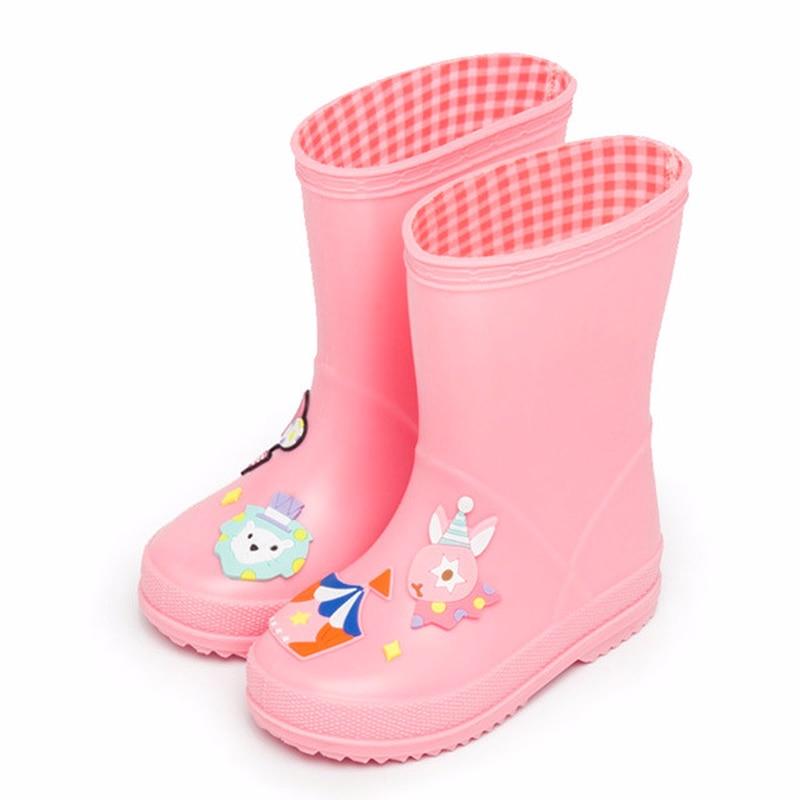 Baby jongens en meisjes regenlaarzen Kinderen cartoon grappige - Kinderschoenen - Foto 4