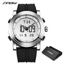 Sinobi Mannen Digitale Horloge Mannen Chronograph Horloges Waterdicht Genève Quartz Sport Running Horloge Klok Relogio Masculino