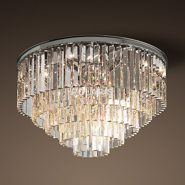 Flush Chandelier Free shipping modern vintage chandelier crystal flush ceiling free shipping modern vintage chandelier crystal flush ceiling mounted light for home hotel decoration audiocablefo