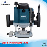 220v 1800w Wood Trimming Machine Edge Trimmer Wood Router Fast Shipping