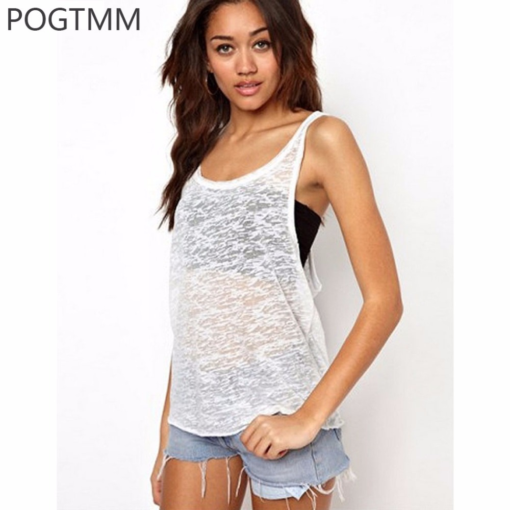 Sommer 2017 sleeveless sporting sexy tank top frauen lose leibchen t-shirt fitness...