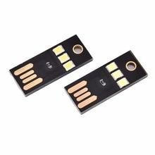 Портативный Миниатюрный светодиодный светильник с питанием от USB, теплый/белый, ультранизкое энергопотребление, карманный фонарь с 2835 чипа...