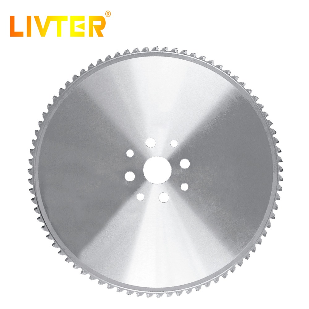 LIVTER Metal Cutting Cold Circular Saw Blades  For High Efficiency Cutting Steel Tools Low Noise Long Life High Hardness