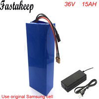 Rechargeable 10S7P 36volt lithium battery pack 36V 500W electric bike battery 36v 15ah fit 36v bafang 8fun bbs02 500w motor