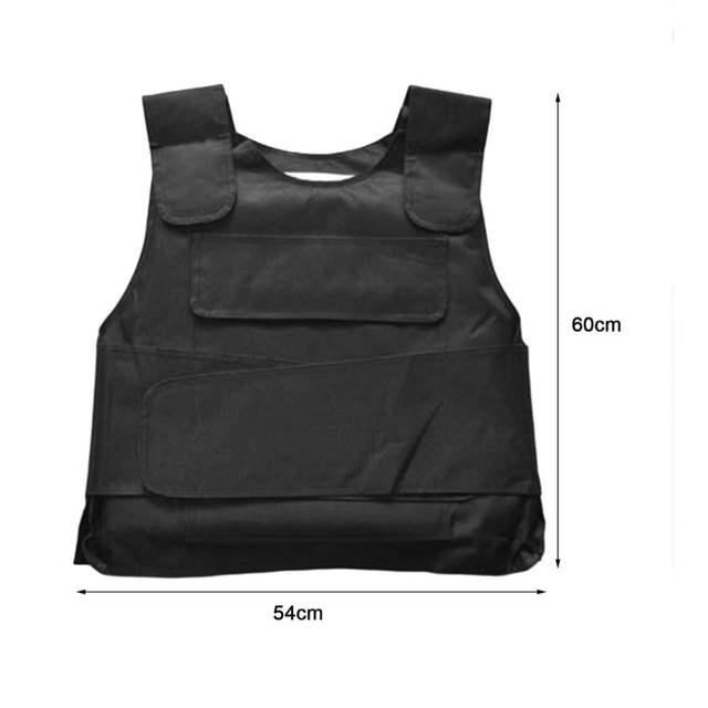 US $11 93 28% OFF Bulletproof Vest Security Guard Vest Anti Tool Customized  version Outdoor Personal self defense security Tactical equipment-in Self