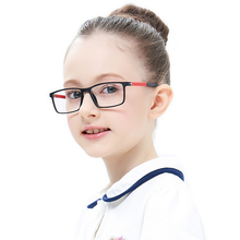 Children Eyeglasses TR90 Flexible Glasses Frame Kids Black Eyewear Optical For Kid Eyeglass Frames