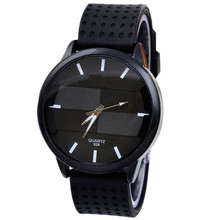 Watch Wan brand Casual Fashion Watch Stereo Surface Silicone quartz sport Watch wholesale free shipping A20