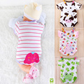 Summer New infant clothes romper newborn summer baby triangle romper short-sleeve  FREE SHIPPING