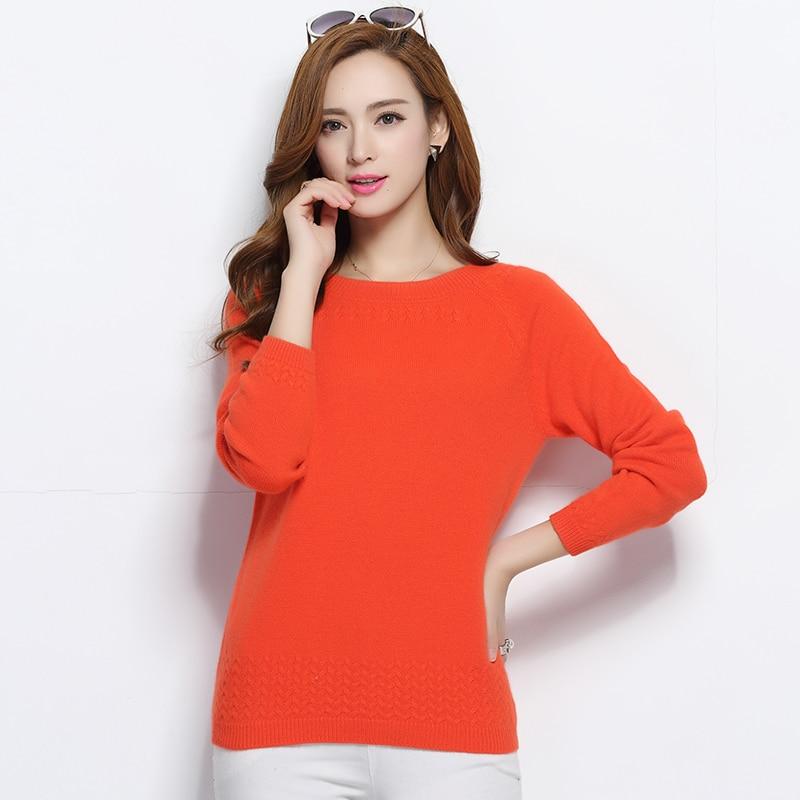 Promotion!2017 autumn Women Sweater Slash Neck Pullovers Cashmere Sweaters slim short design plus size pullover basic shirt