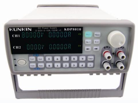 Arrivée rapide KDP8010 80 V/10A/150 W * 2 double canal alimentation contrôlée par programme