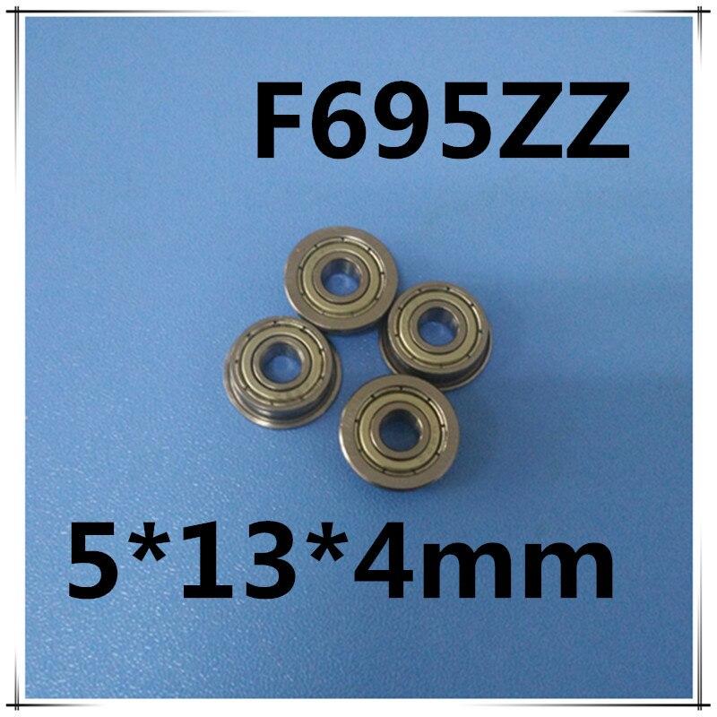 F695 F695ZZ экранированный Модель Фланец подшипника 5x13x4 мм 20 шт.