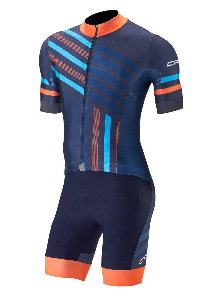 Prix pour 2017 Capo Vélo Jersey Maillot Ciclismo Manches Courtes et À Vélo cuissard Vélo Kits Courroie cycle jersey Ciclismo biciclet