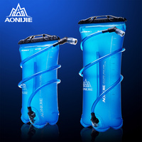 AONIJIE Outdoor Water Bag 1.5L 2L 3L For Camping Hiking Climbing Cycling Running Foldable PEVA Sport Hydration Bladder