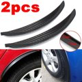 Universal Carbon Fiber Car Rueda Bengalas Para Labio Guardabarros Guardabarros Guard Body Kits Proteger 24.5 cm